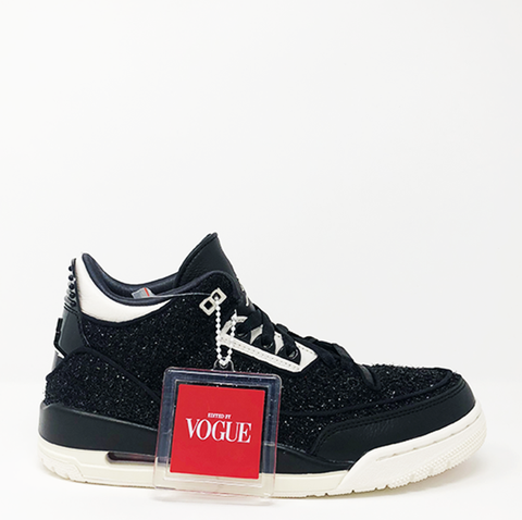 "Jordan 3 Retro AWOK Vogue ""Black"""