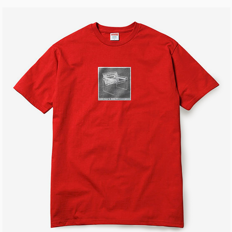 "Supreme Chair Tee ""Red"""