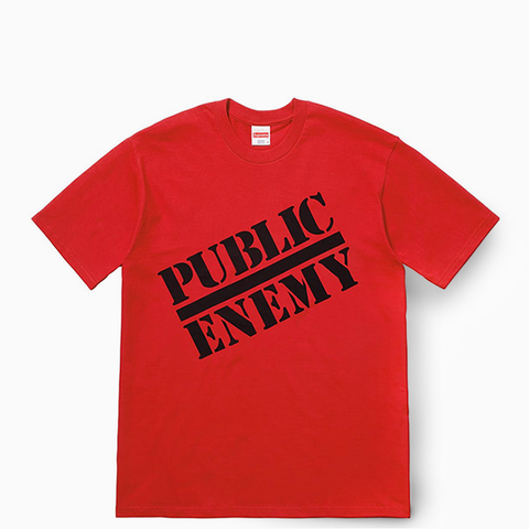 "Supreme x Undercover x Public Enemy Tee ""Red"""