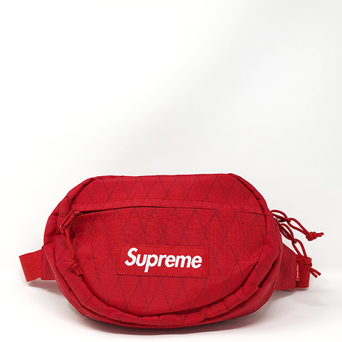 "Supreme Waist Bag ""Red"""