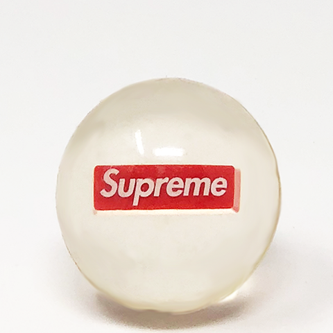 "Supreme Box Logo Bouncy Ball ""Transparent"""