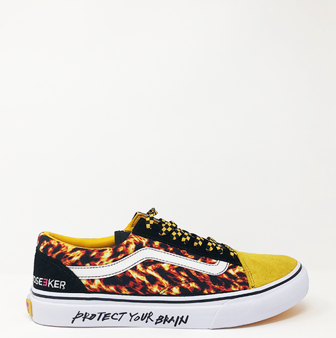 "Vans Old Skool Low x Mindseeker ""Fire"""