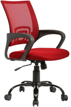 Load image into Gallery viewer, Ergonomic Mesh Computer Desk Chair| Lumbar Support and Adjustable Stool Rolling Swivel