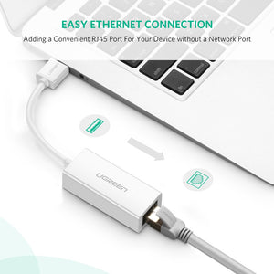 Ethernet to USB Adapter - Work At-Home Equipment Solutions (WAHES)