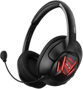 EKSA Ultralight USB Gaming Headset - 7.1 Surround Sound Headphones with Breathable Earmuffs