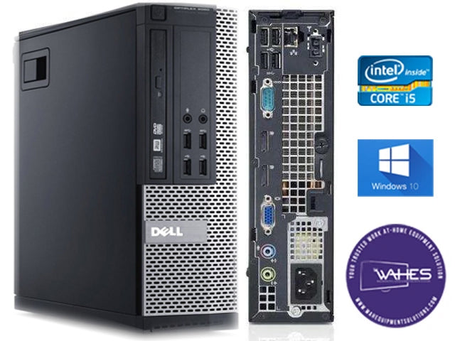 Dell Optiplex 9020 SFF - Desktop CPU Tower – i7| 8GB RAM| 250GB HD (Arise|ASD Compatible)