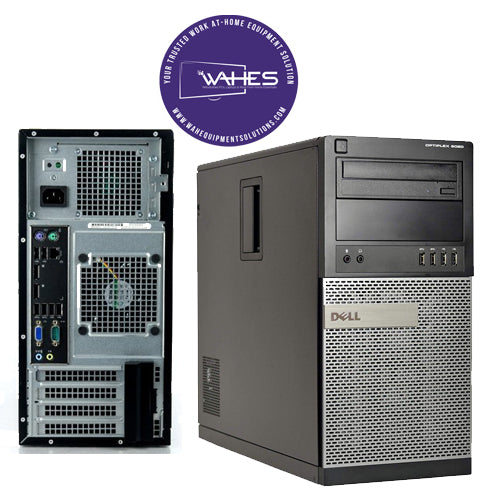 Dell Optiplex 9020 DT (w/ Speakers)- Desktop CPU Tower – I5| 8GB RAM (Arise|ASD Compatible)