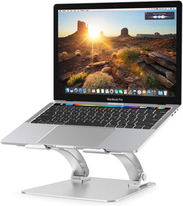 Nulaxy Laptop Stand, Ergonomic Adjustable Laptop Stand Compatible with All Laptops 10-17.3""