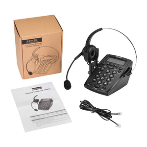 AGPtek Handsfree - Call Center Dialpad Headset - Work At-Home Equipment Solutions (WAHES)