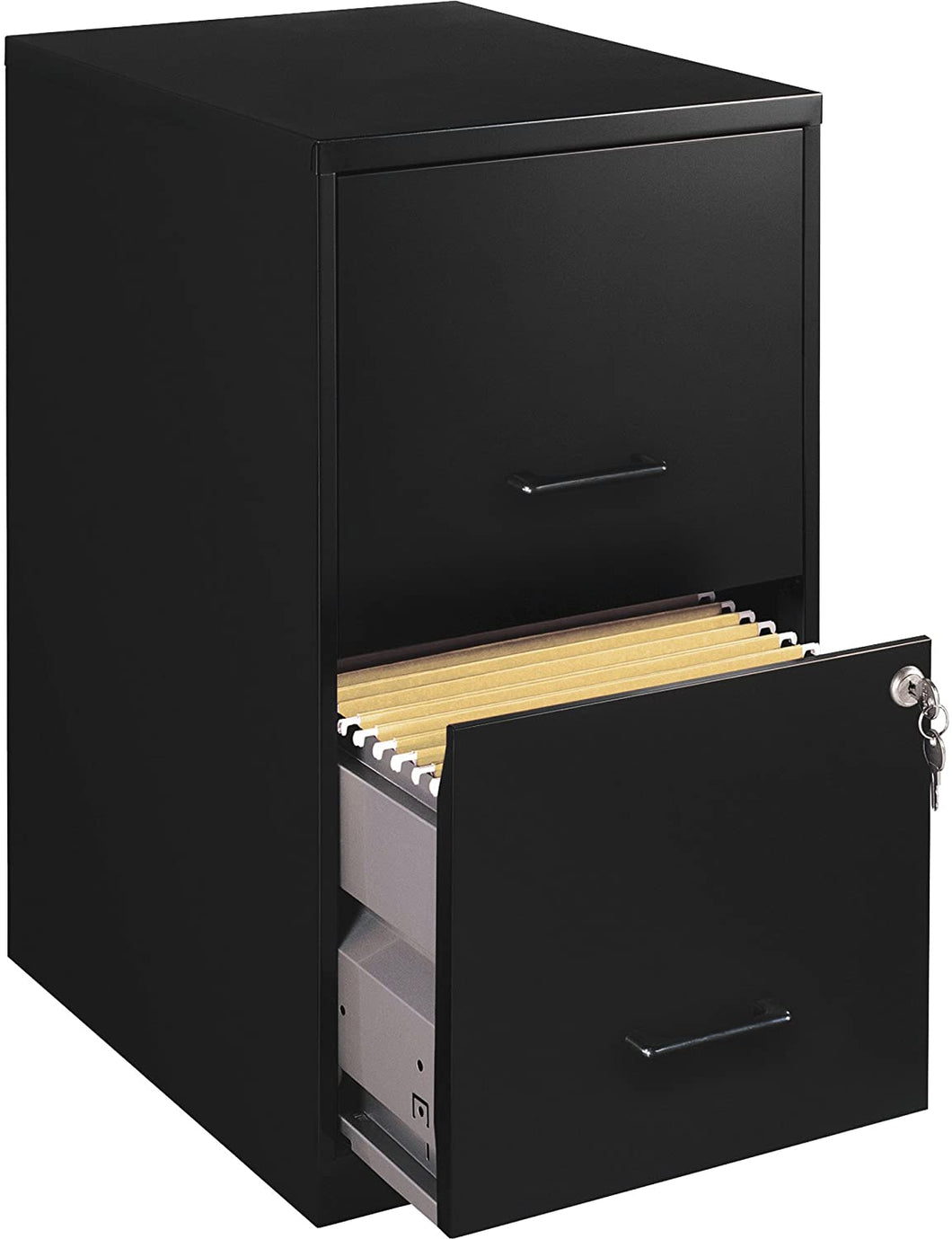 Lorell 14340 18 Deep 2-Drawer File Cabinet