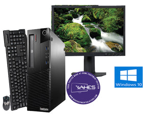 Lenovo ThinkCenter M93P SFF- 19"
