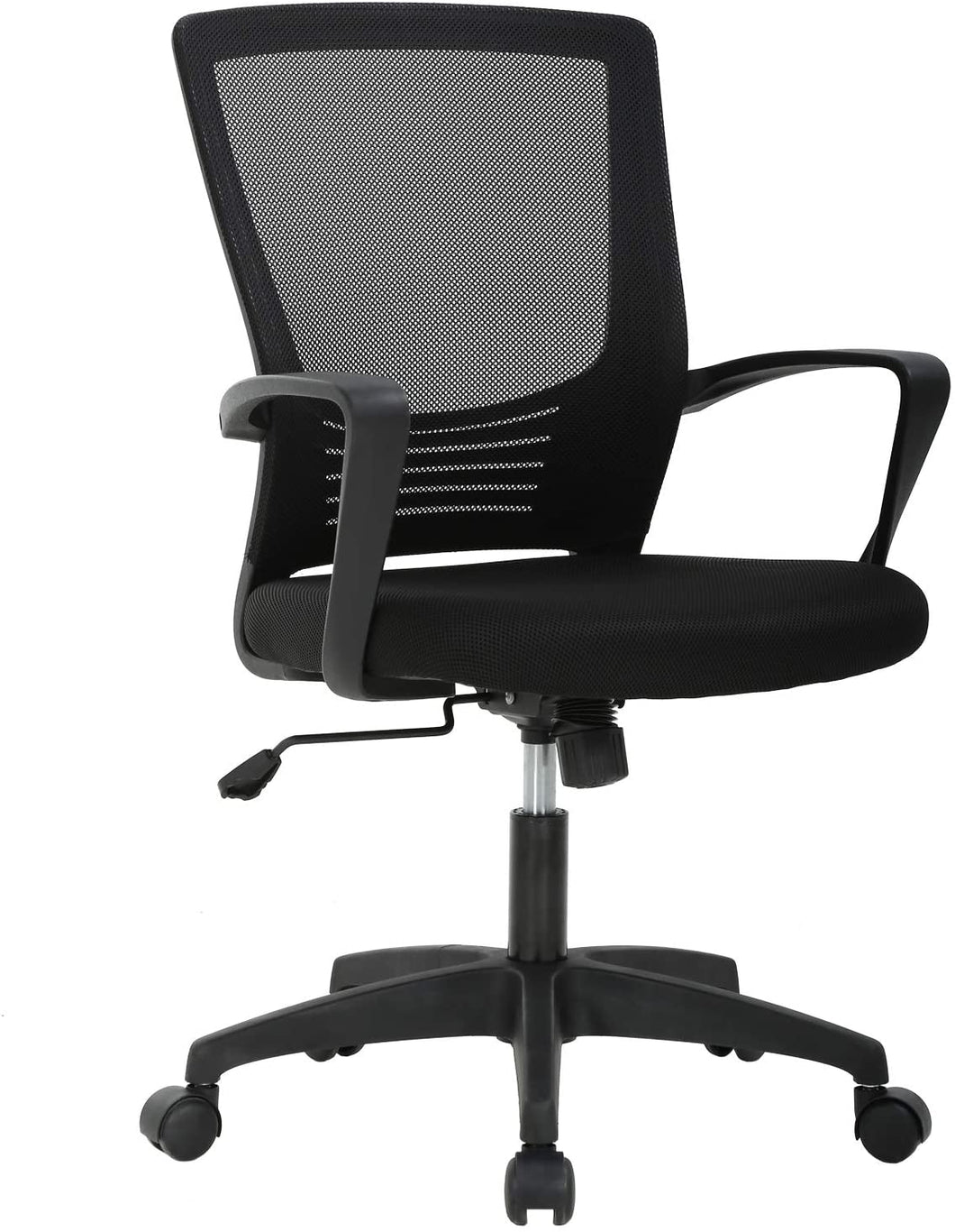 Ergonomic Office Modern Mesh Swivel Computer Chair with Lumbar Support Arms
