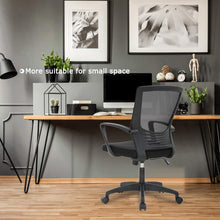 Load image into Gallery viewer, Ergonomic Office Modern Mesh Swivel Computer Chair with Lumbar Support Arms