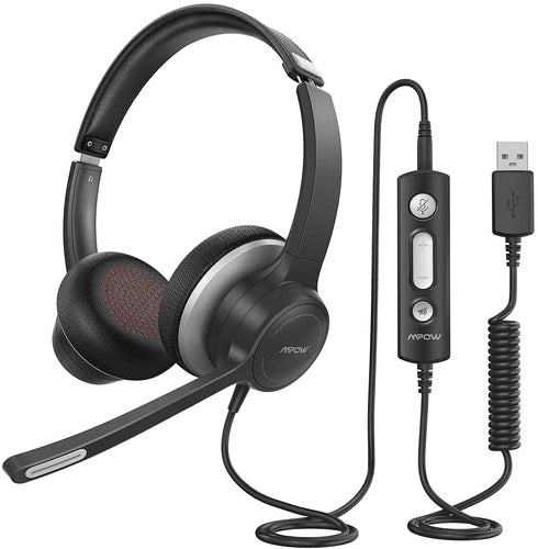 Mpow USB Call Center Headset with Microphone