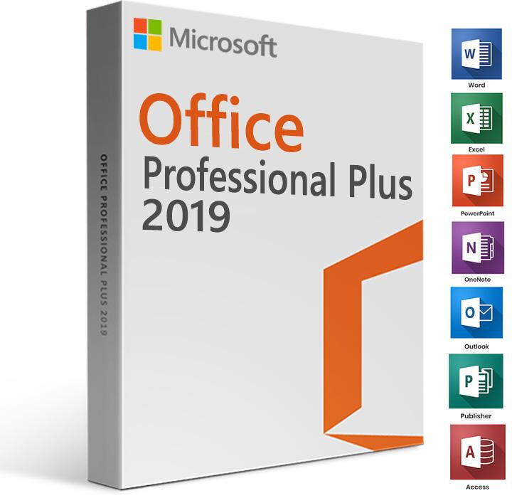 Microsoft Office 2019 - Professional Plus with/Remote Installation Included