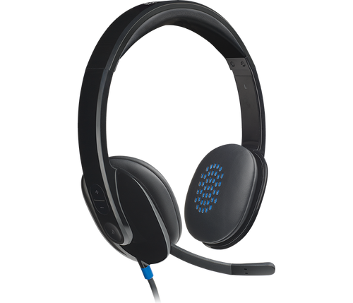 Logitech H540 USB HEADSET - With High-Definition sound and on-ear controls