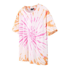 Load image into Gallery viewer, Orange and Pink tie dye shirt