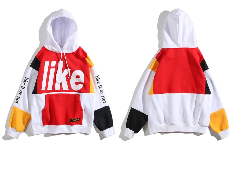 Like it or not hoodie