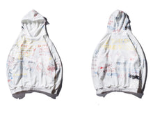 Load image into Gallery viewer, White Graffiti Hoodie