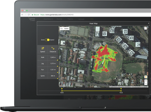 Soccer GPS Tracking Heat map Sports Performance Tracking