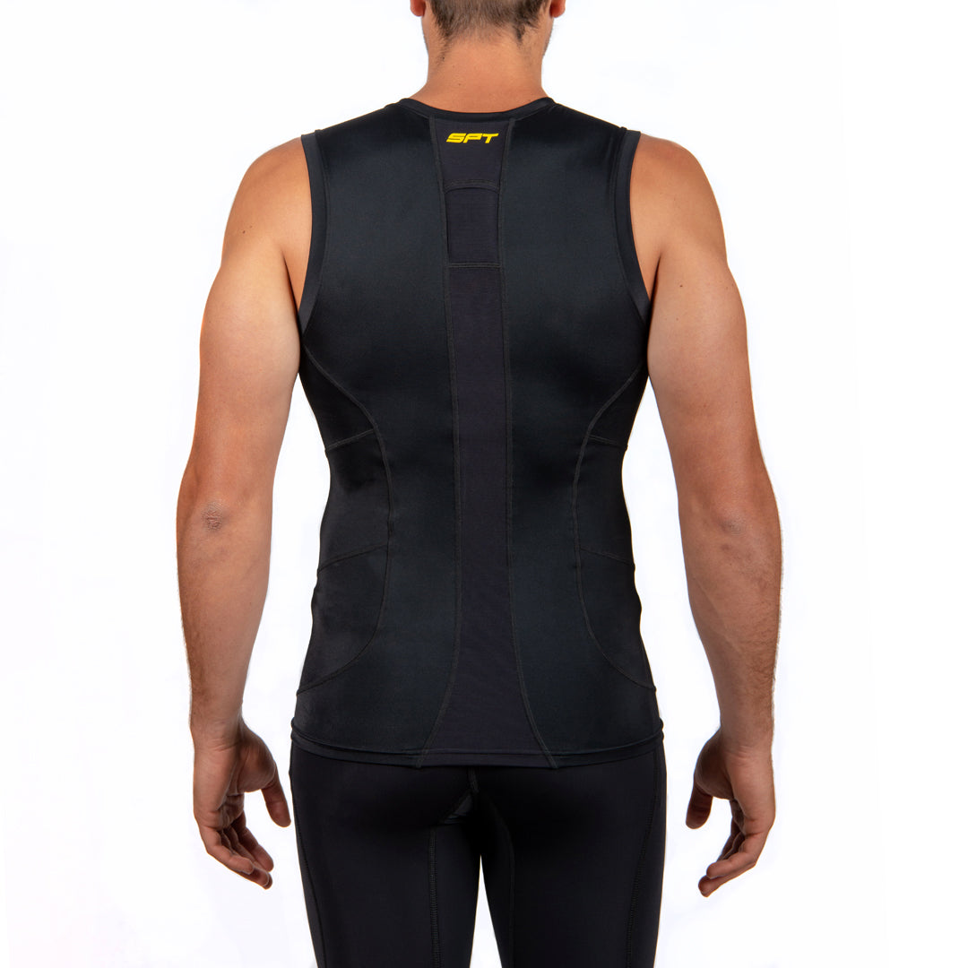 SPT GPS Compression Tank Top Mens