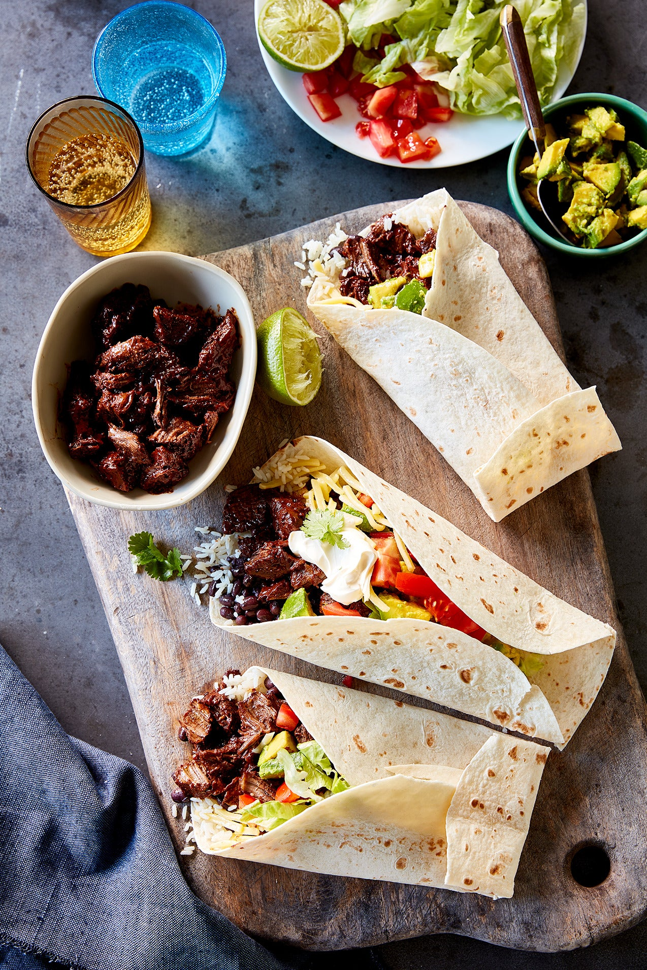 CHUCK STEAK BURRITO