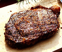 HONEY GINGER MARINATED RIBEYES