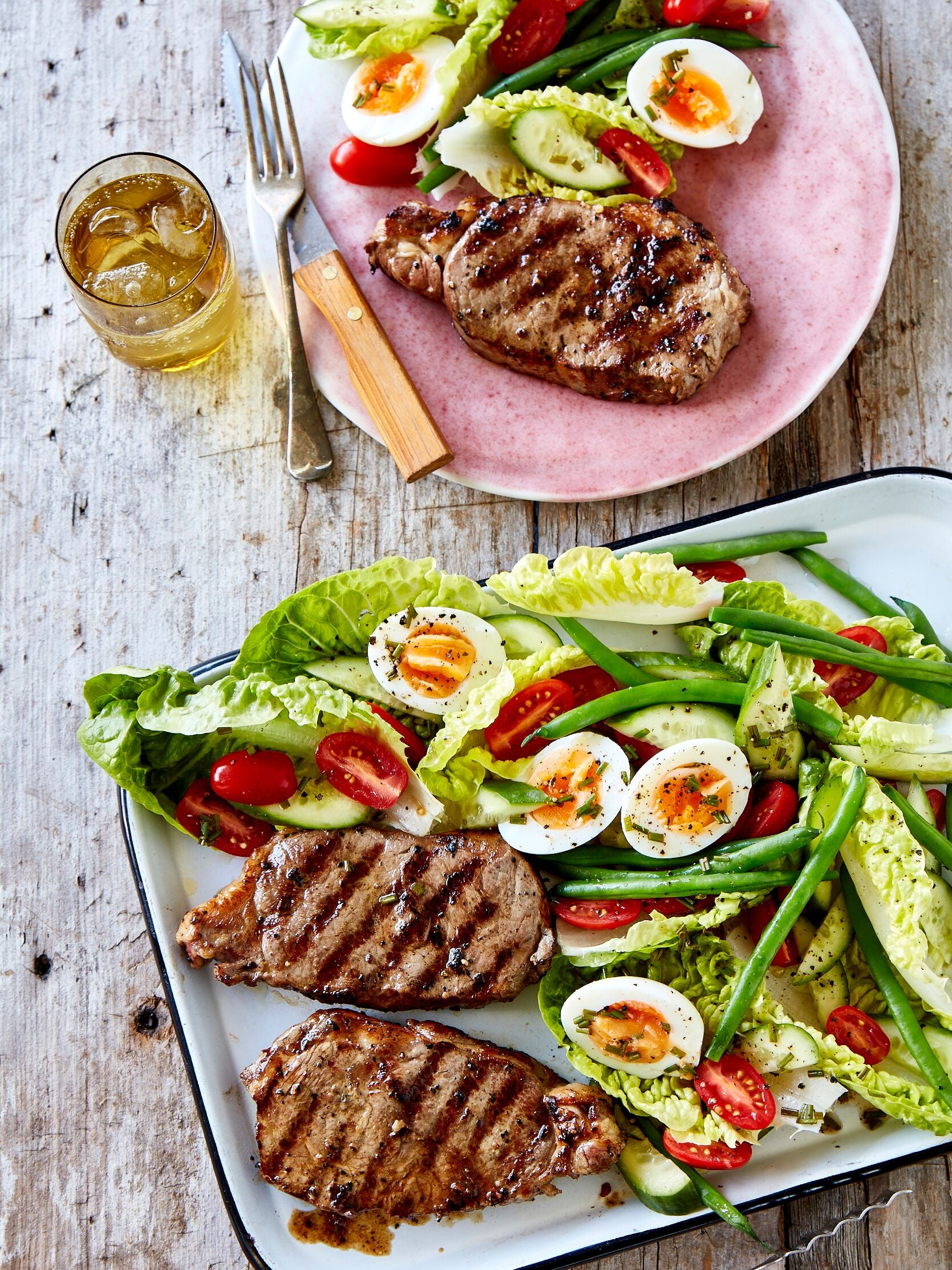 PORTERHOUSE STEAK NICOISE SALAD
