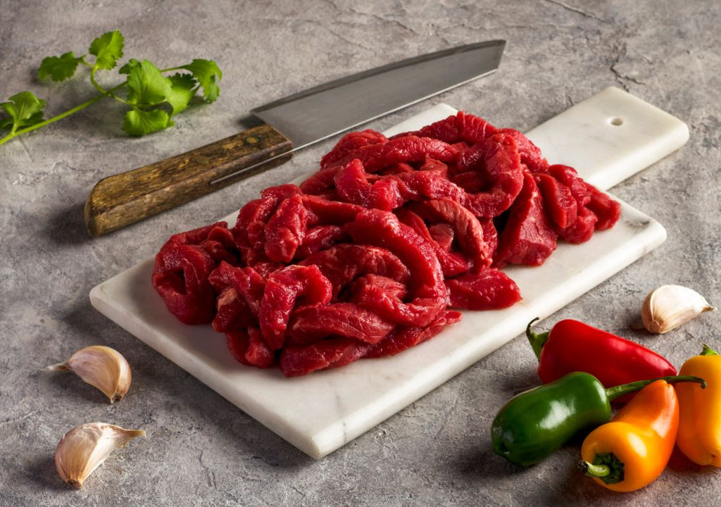 100% Grass-Fed Organic Fajita Strips