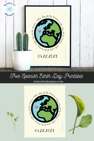 Pinterest Earth Day Pin