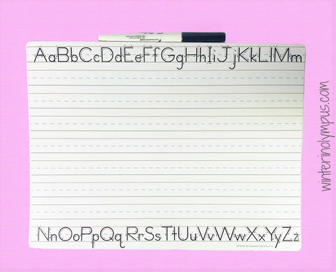 Picture of Handwriting Board