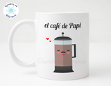 Spanish Language 11 oz Ceramic Papi Coffee Mug