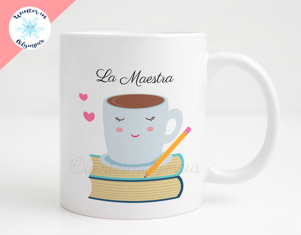 Spanish Language Teacher 11 oz Ceramic Coffee Mug