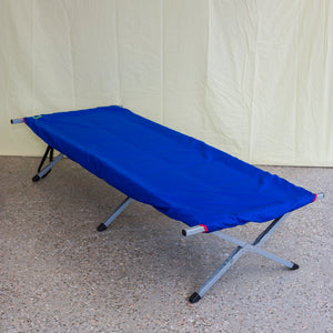 Camping stretcher Drifted off fitted sheeting