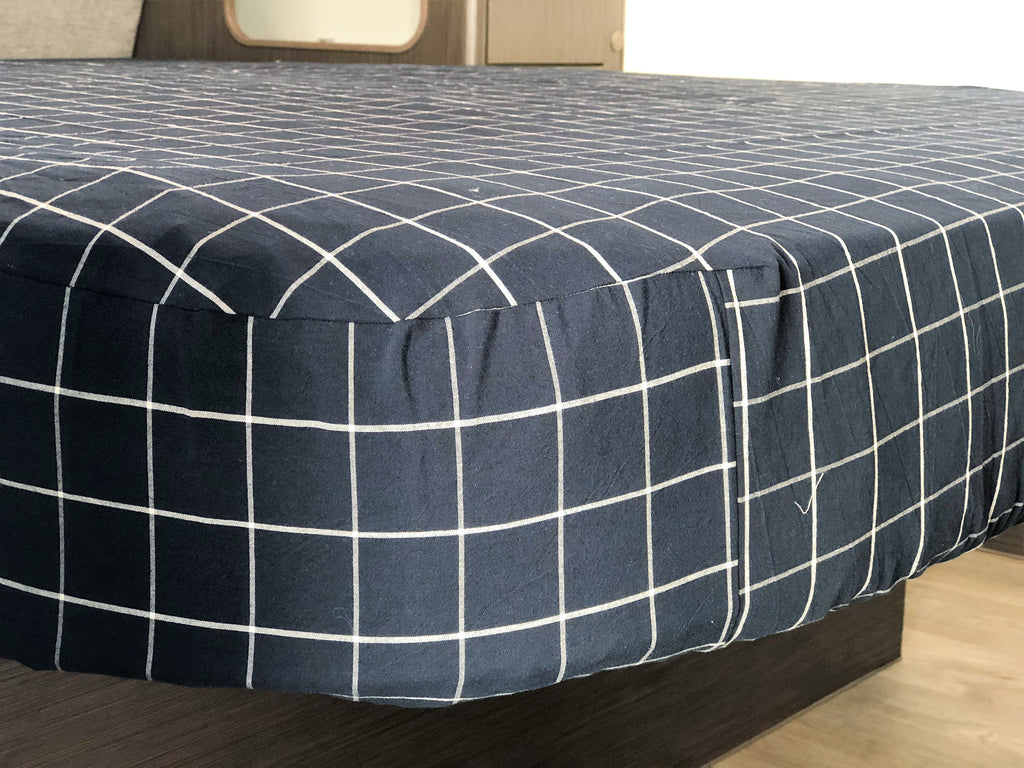 Caravan Queen Fitted Bed Sheets