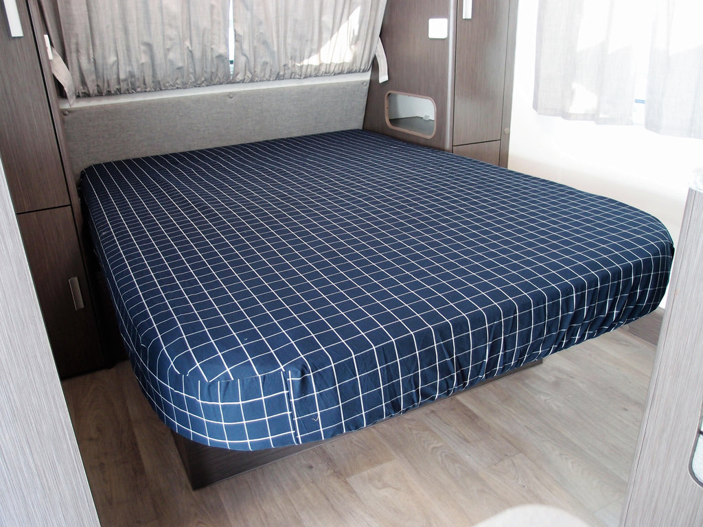 Caravan Fitted Bottom Sheet - Queen