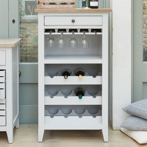 Belmont | Wine & Glass Rack