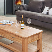 Whitewell | Coffee Table (Four drawers)