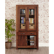Rivington | Bookcase (Large Glazed)