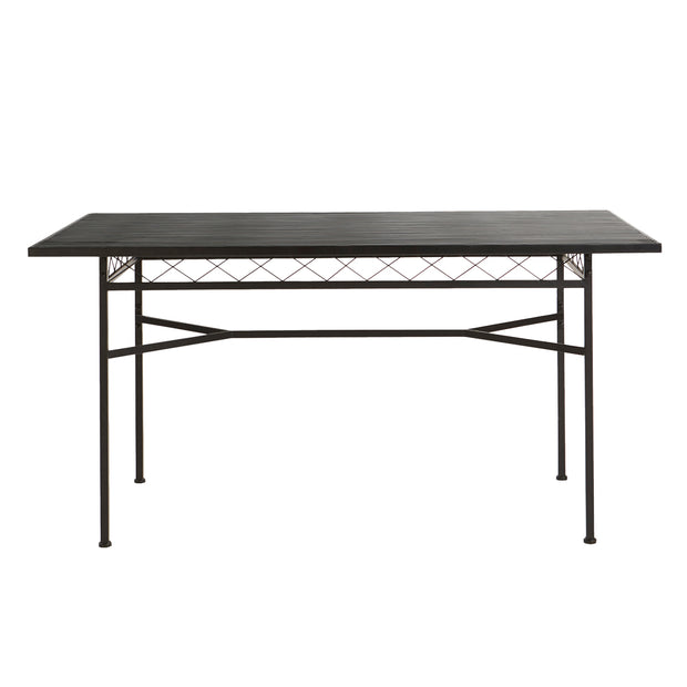 Gardia | Dining Table (Large / Black)