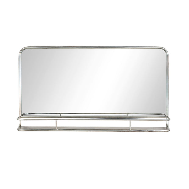 Hildia | Mirror (Antique Silver 90x50)