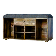 Felman | Bench Shoe Cabinet (Tweed)