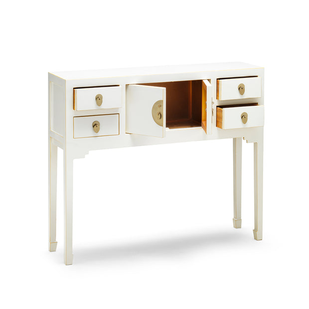 Tao | White Console Table