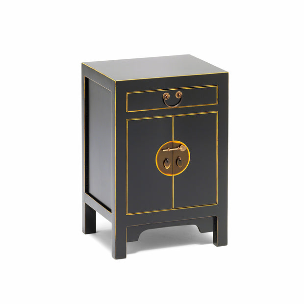 Tao | Black & Gilt Cabinet (Small)