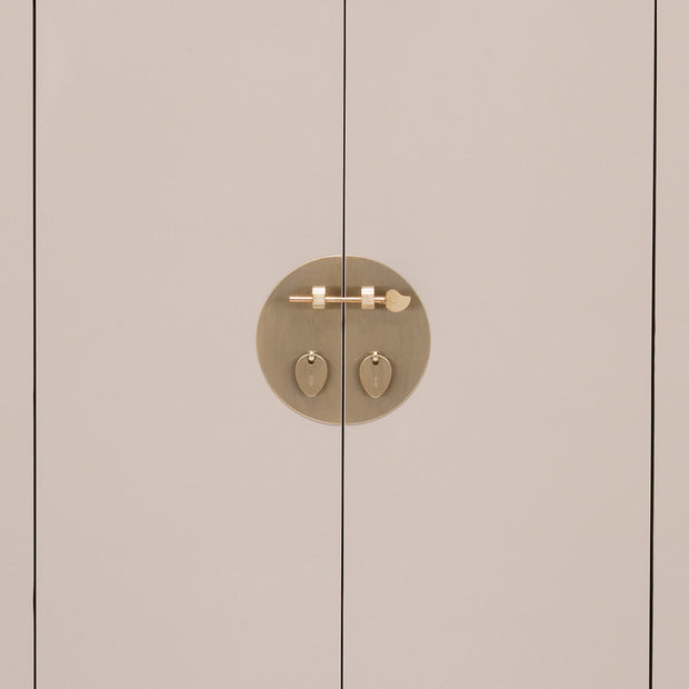 Tao | Oyster Grey Cabinet (Medium)