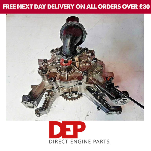 JAGUAR LAND ROVER 204DTD OIL PUMP G4D3-6L079-F (Genuine Used OEM)