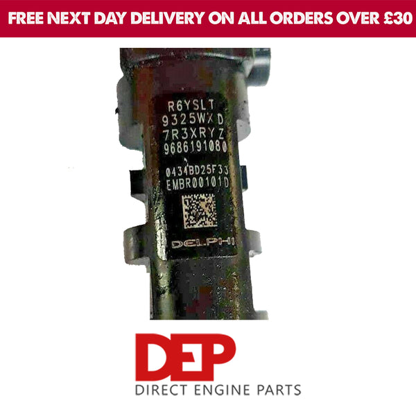 DELPHI FORD CITROEN 2.0 D EMBR00101D INJECTOR (GENUINE USED OEM)