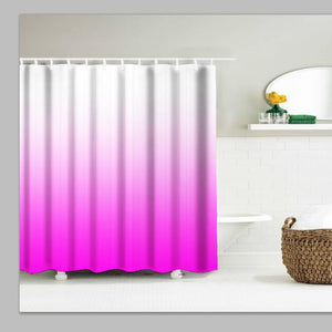 Bathroom Shower Curtain in Purple