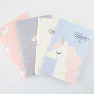 Unicorn A5 Notebook Diary Book Exercise Composition Notepad Escolar Papelaria Gift Stationery