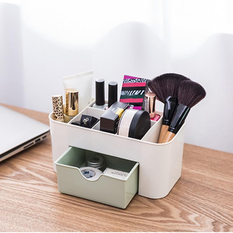 6 Grid Makeup Organizer Storage Box